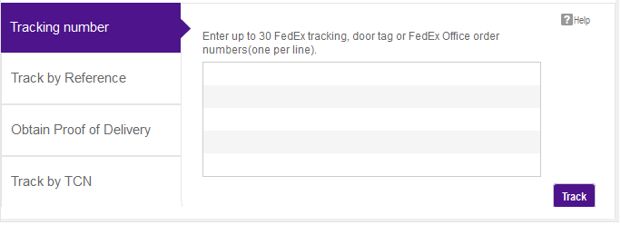 The Fedex Cargo Tracking System