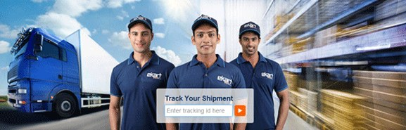 The ekart logistics company in India