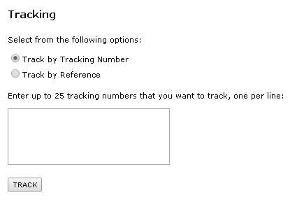 GSO deliverytracking