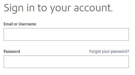 PBI account login page
