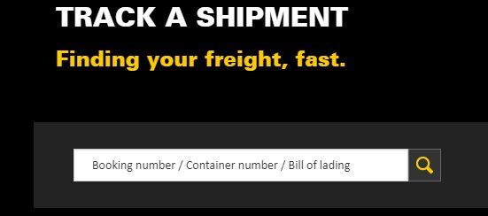 track the shipment of MSC vessel